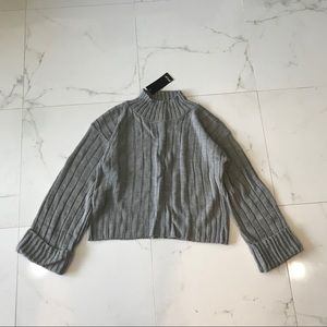 nasty gal • turtleneck crop sweater